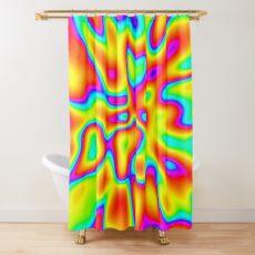 Abstract random colors #2 Shower Curtain