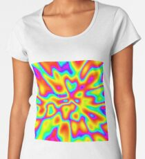 Abstract random colors #2 Premium Scoop T-Shirt