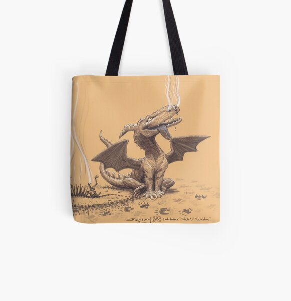 Dragon, man's most faithful friend All Over Print Tote Bag