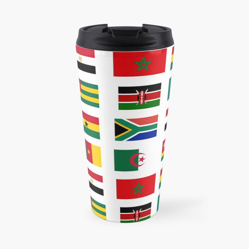 African flags stickers pack Travel Mug