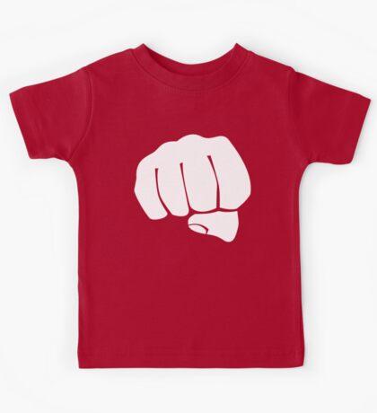 Big Minimal Fist Kids Clothes