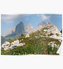 landscape rocky mountain Poster