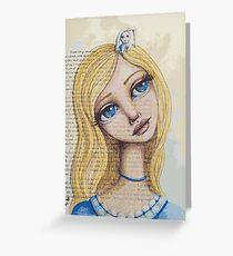 Alice Greeting Card