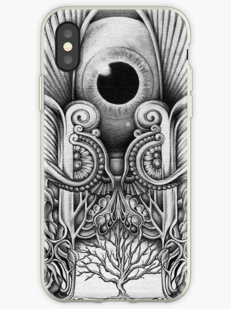 'Anubis Eye Symbol Iphone Case' iPhone Case by dhiedhieCase55