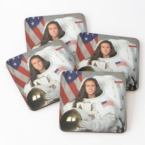 Nicolas cage Coasters (Set of 4)