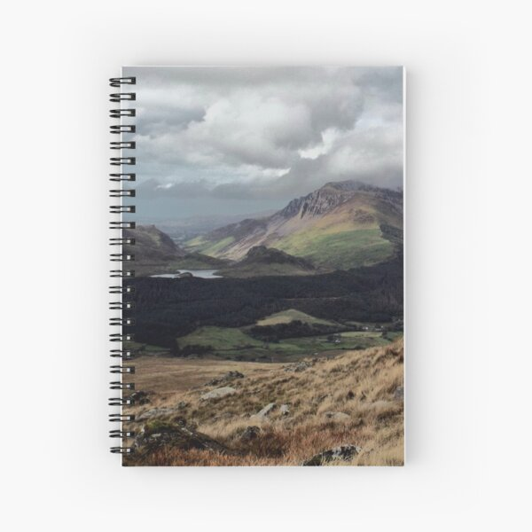 A View From Snowdon Spiral Notebook
