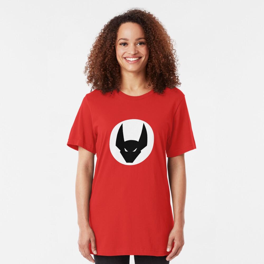 The white emblem Slim Fit T-Shirt