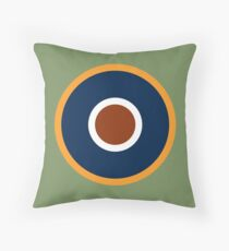 Royal Air Force - Historical Roundel Type C.1 1942 - 1947 Throw Pillow