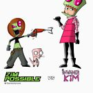 Zim Possible vs Invader Kim von The-Bundycoot