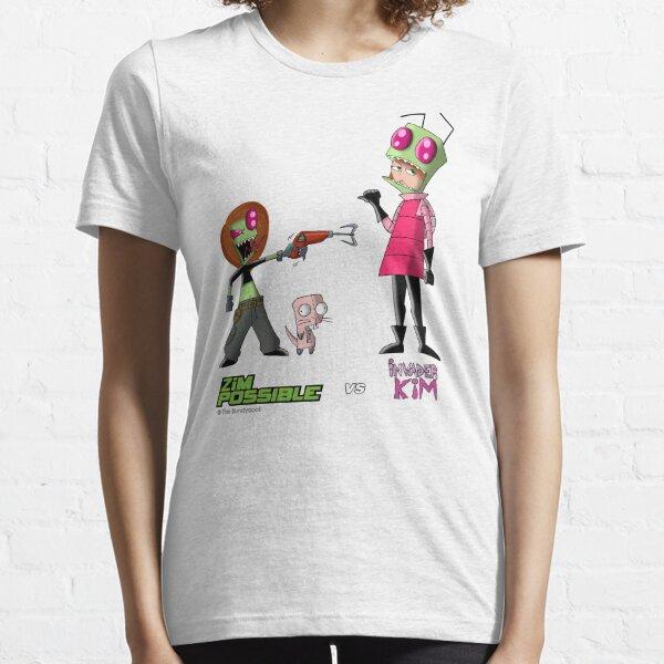 Zim Possible vs Invader Kim Essential T-Shirt