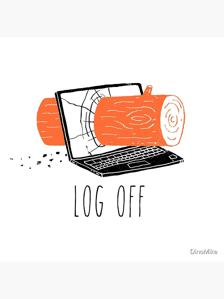 Log Off by DinoMike