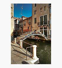 Ponte Chiodo (Nail Bridge) - Venice Photographic Print