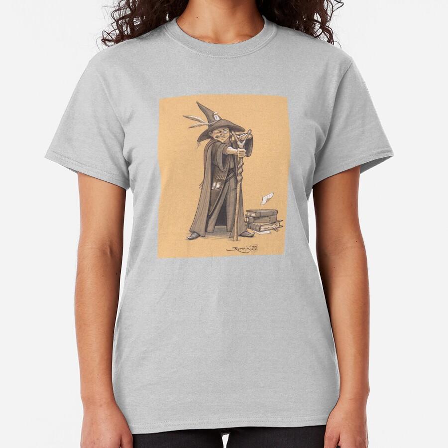 Young rebel wizard Classic T-Shirt