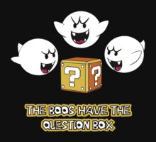 The Boos have the question box