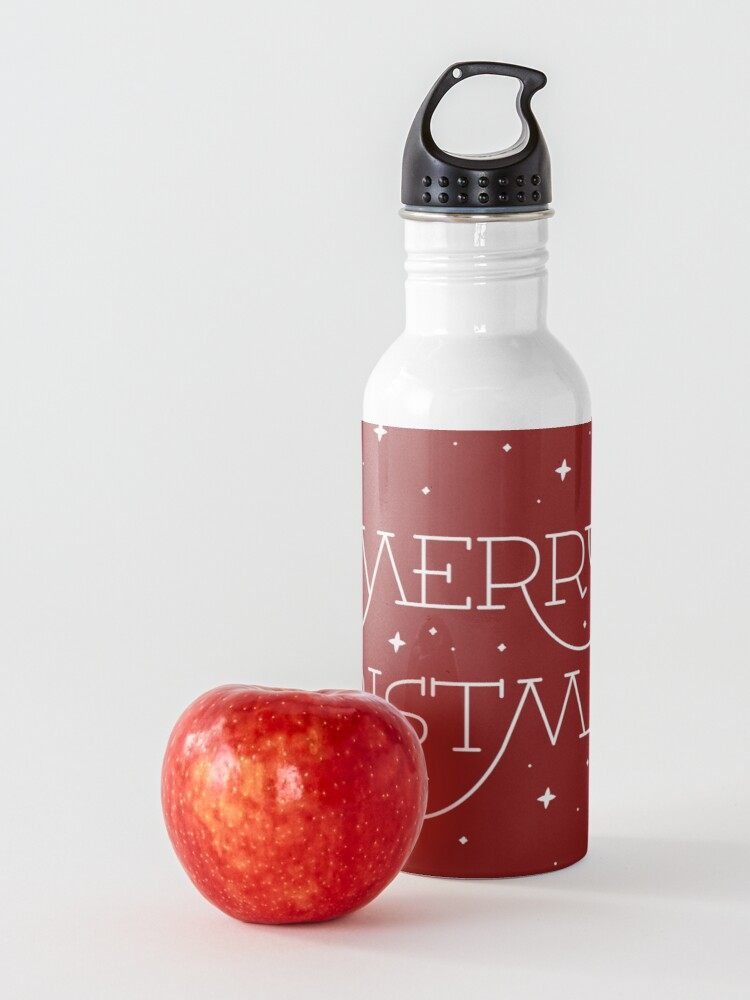 Alternate view of Merry Christmas Water Bottle