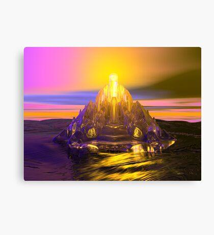 Ice Mountain Solstice Canvas Print