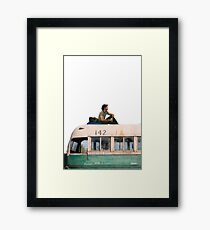 """""""Happiness is only real when shared"""" Framed Print"""