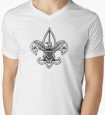 CREST Mens V-Neck T-Shirt