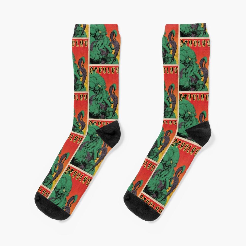 Cthulhu (Vintage) Socks
