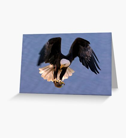 Holding Firm Greeting Card