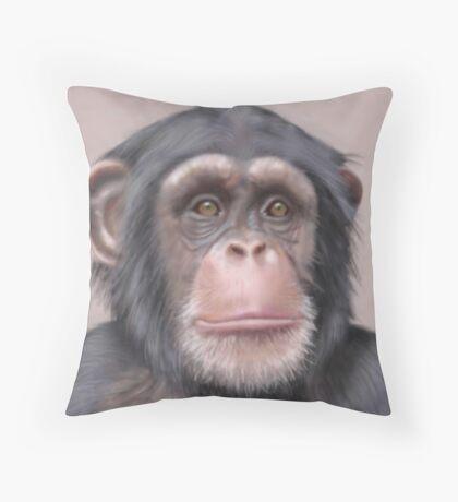 A. Chimp Throw Pillow