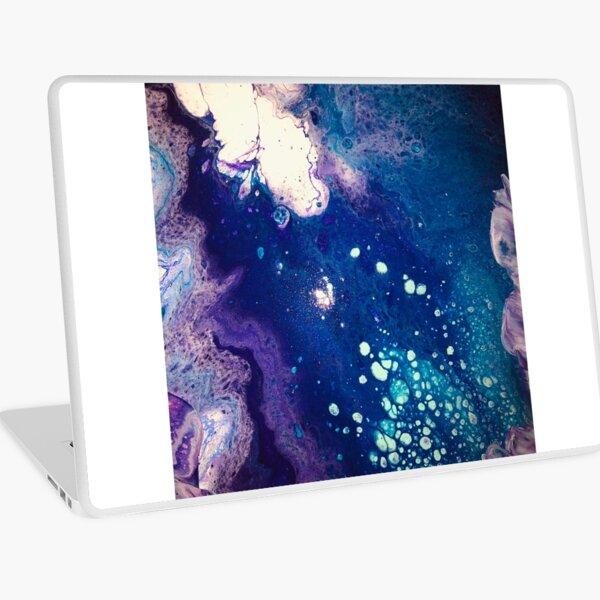 Acrylic Pour Laptop Skin