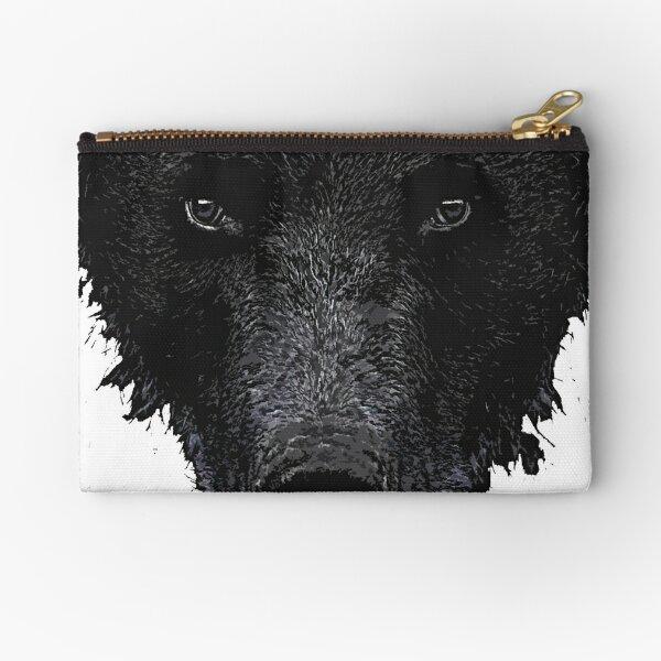 Bear Stare  Zipper Pouch