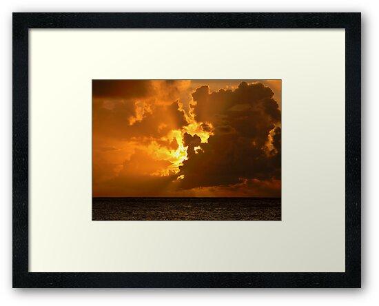Anguilla Sunset by Leon Heyns