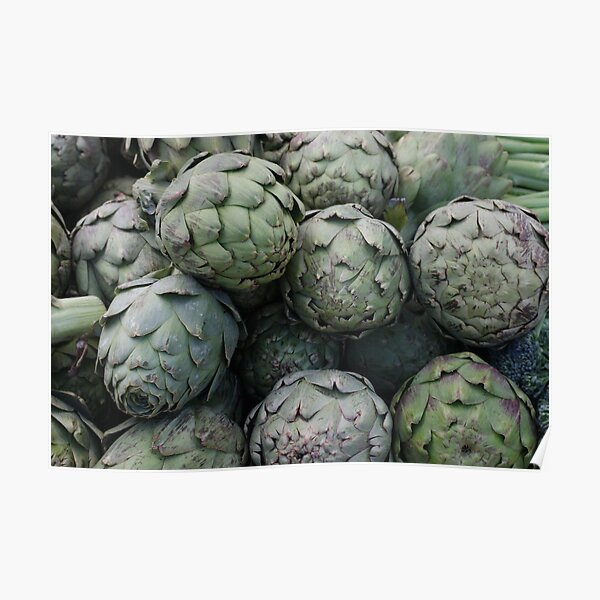 Artichokes on a bus Poster