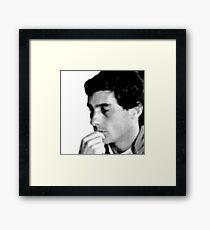 Ayrton Senna Framed Print