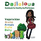 Delicious Notebook For Healthy Stuff and Recipes by KarenBarron