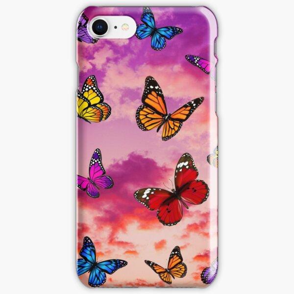 Butterflies in sky iPhone Snap Case