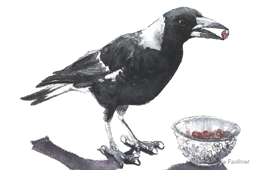 Magpie Thief by Denise Faulkner