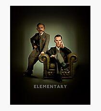 19th Century Sherlock and Watson Photographic Print
