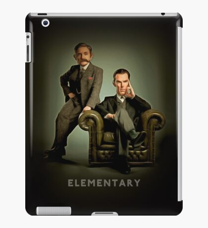 19th Century Sherlock and Watson iPad Case/Skin