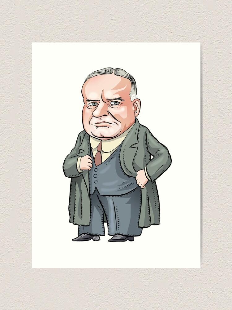 Alternate view of President Herbert Hoover Art Print
