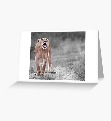 The Roar Greeting Card