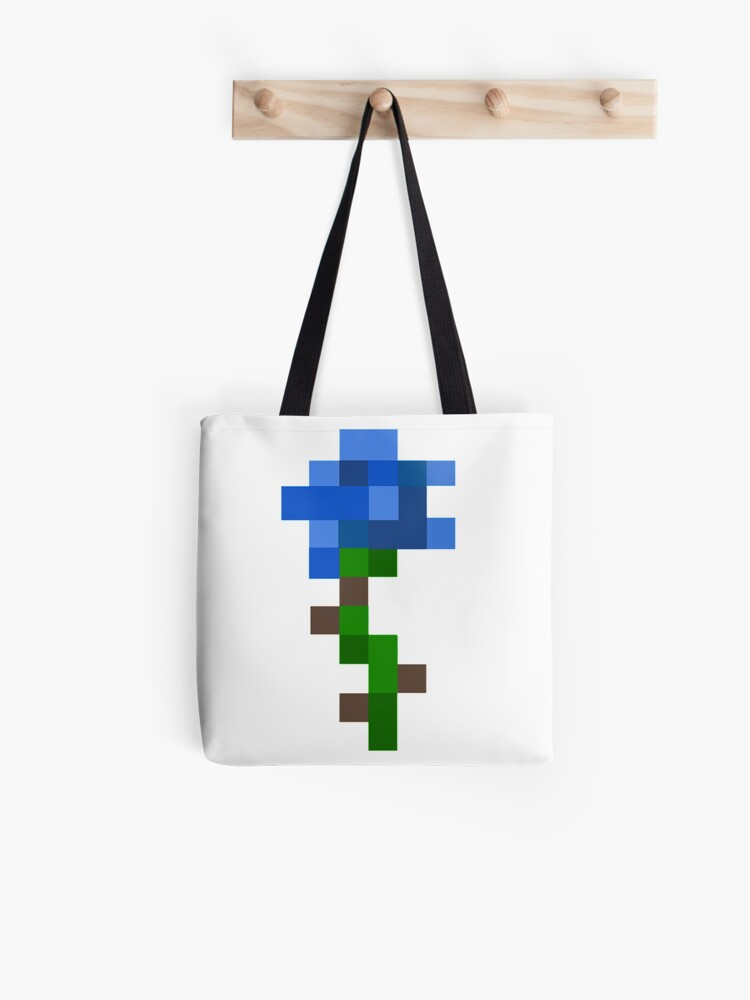 aesthetic minecraft logo blue