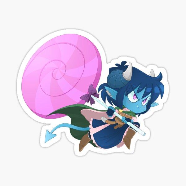Jester ATTACK! Critical Role - The Mighty Nein - Chibi Cuties Sticker
