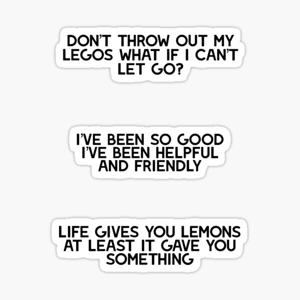 ajr neotheater lyrics Sticker