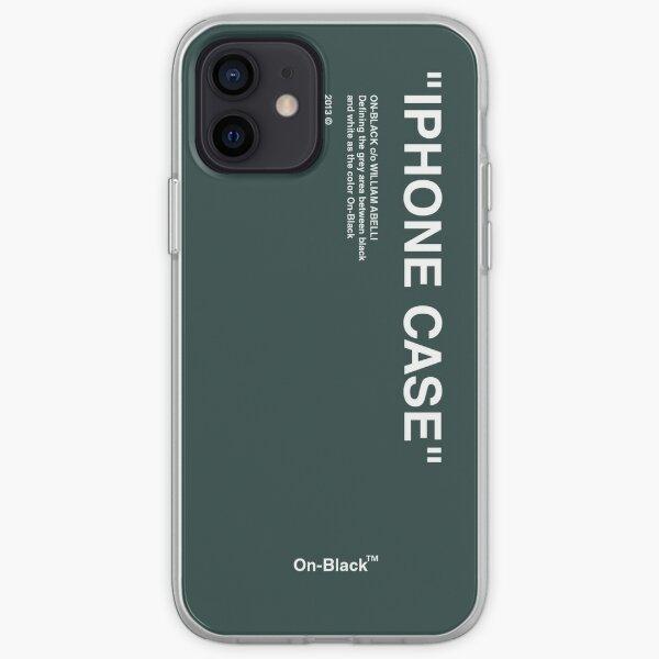 Designer case. DARKGREEN iPhone Soft Case