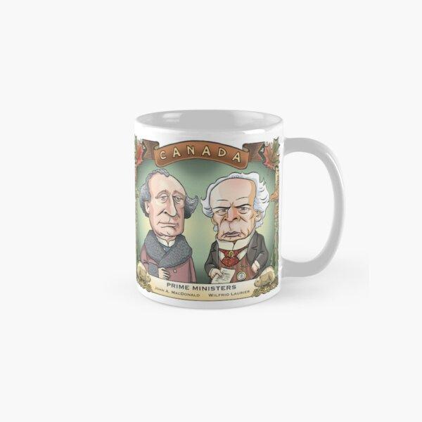 Prime Ministers John A MacDonald & Wilfrid Laurier Classic Mug
