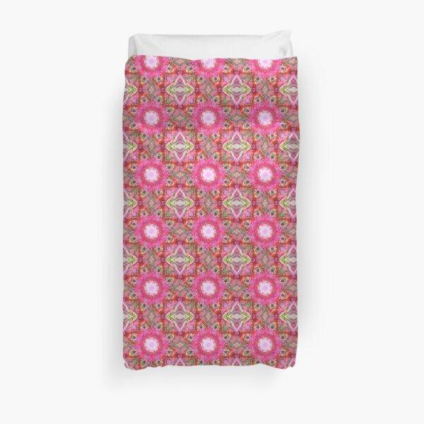 Pink Prep kaleidoscope  Duvet Cover