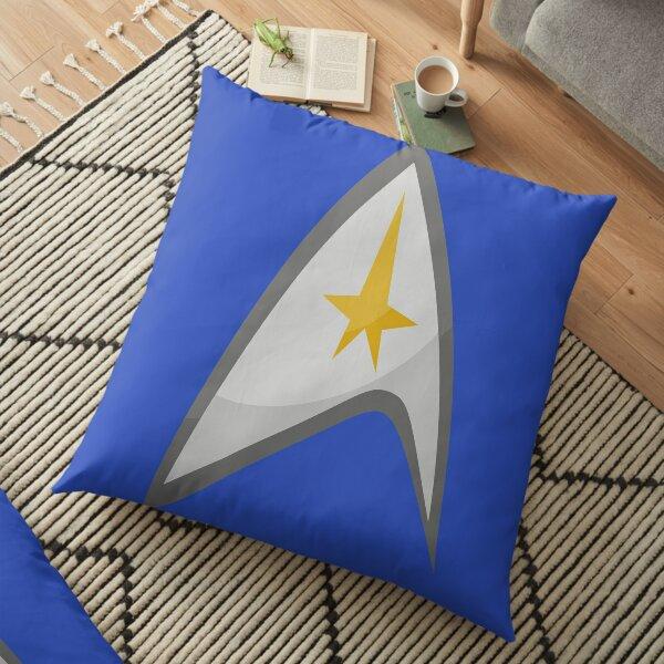 Star Trek - Federation starfleet Floor Pillow