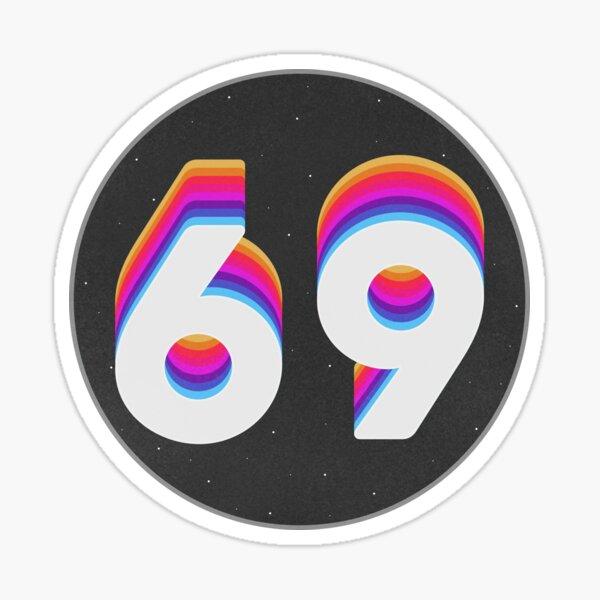 Sixty Nine Sticker