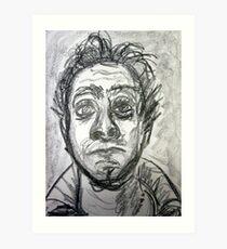 60 second self portrait Art Print