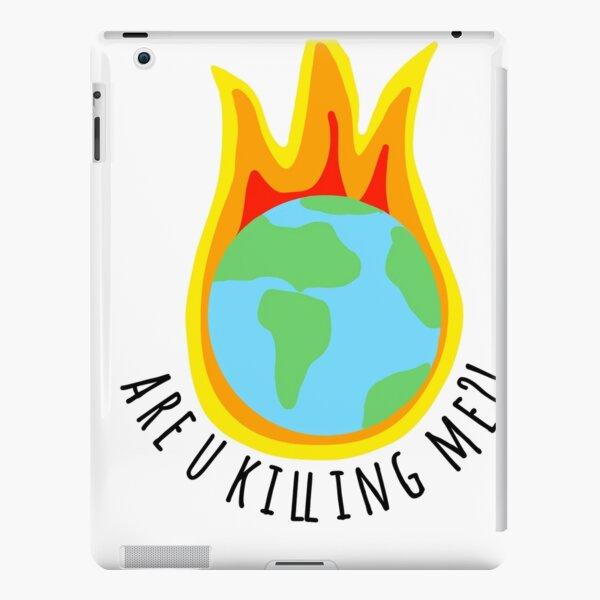 Klimawandel-Aufkleber Tötest du mich ?! iPad – Leichte Hülle
