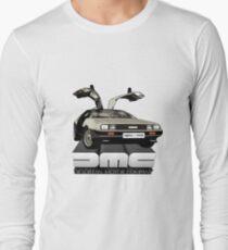 DeLorean Tee Shirt Long Sleeve T-Shirt