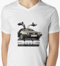 DeLorean Tee Shirt Men's V-Neck T-Shirt