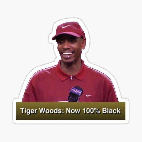 Tiger Woods (Dave Chappelle) Sticker